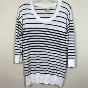 Banana Republic Womens Medium Sweater Striped